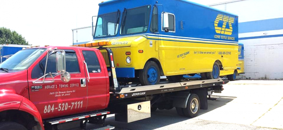 No Problem! At Horace's Towing & Recovery, We Specialize In Light, Medium & Heavy Duty Towing!